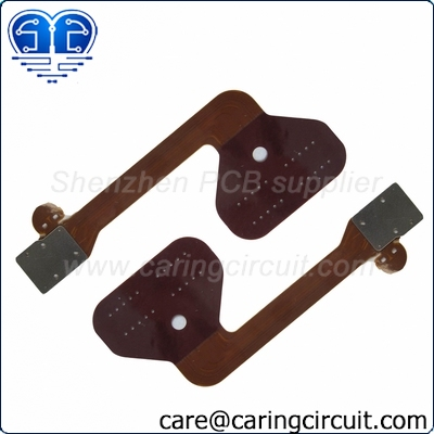 Flexible PCB Fab with Metal Stiffener from China
