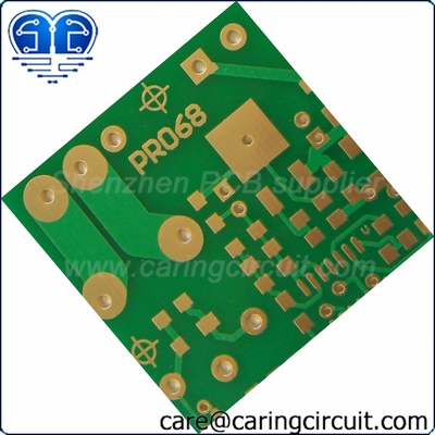 what is an electronic circuit? Gold electronic circuit with details
