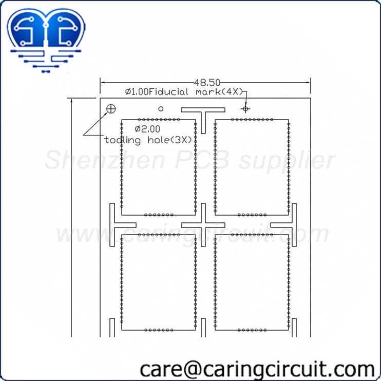 Free PCB Panel Design Service | Caring Circuit