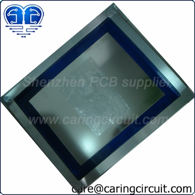 frame SMT stencil together with PCB|Framed surface mount stencil